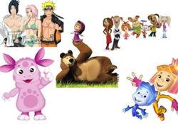 Из чего можно сделать персонажа к мультфильму